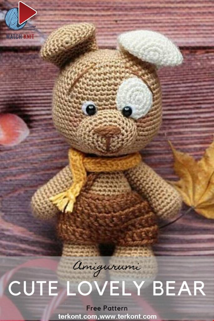 Cute Lovely Bear Amigurumi