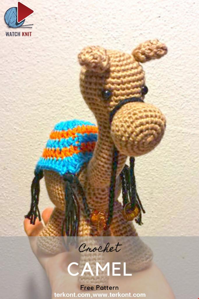 Crochet Camel Pattern