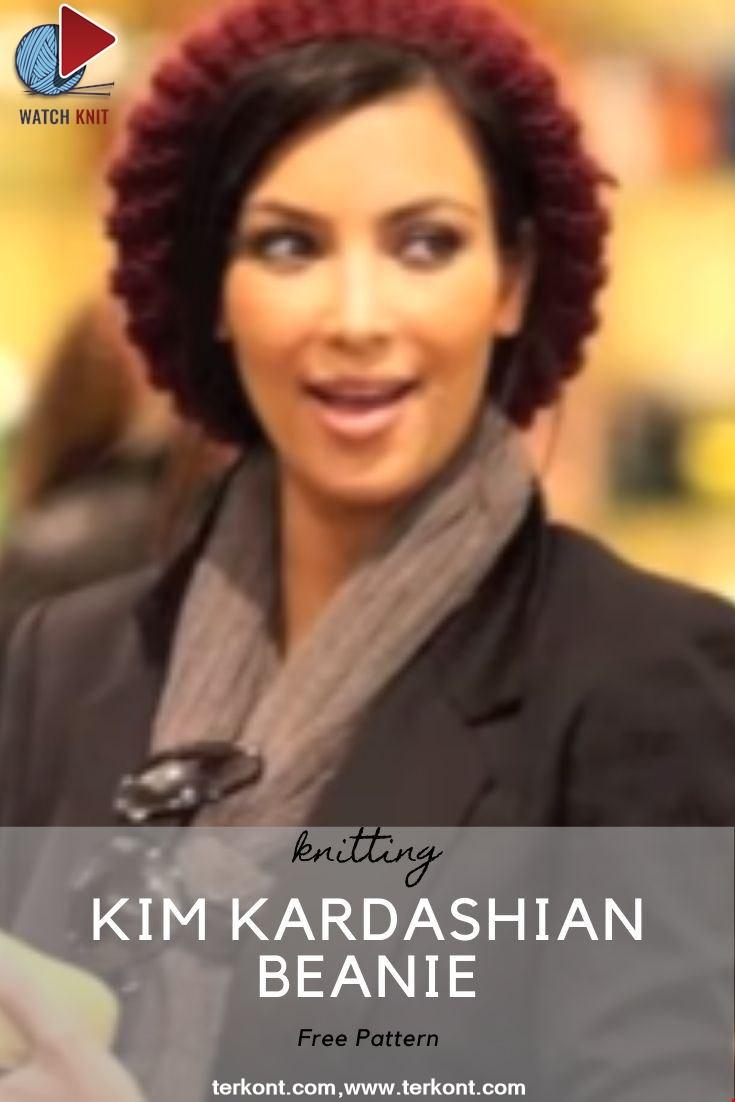 Kim Kardashian Beanie