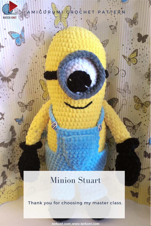 Amigurumi Minion Stuart Crochet Pattern