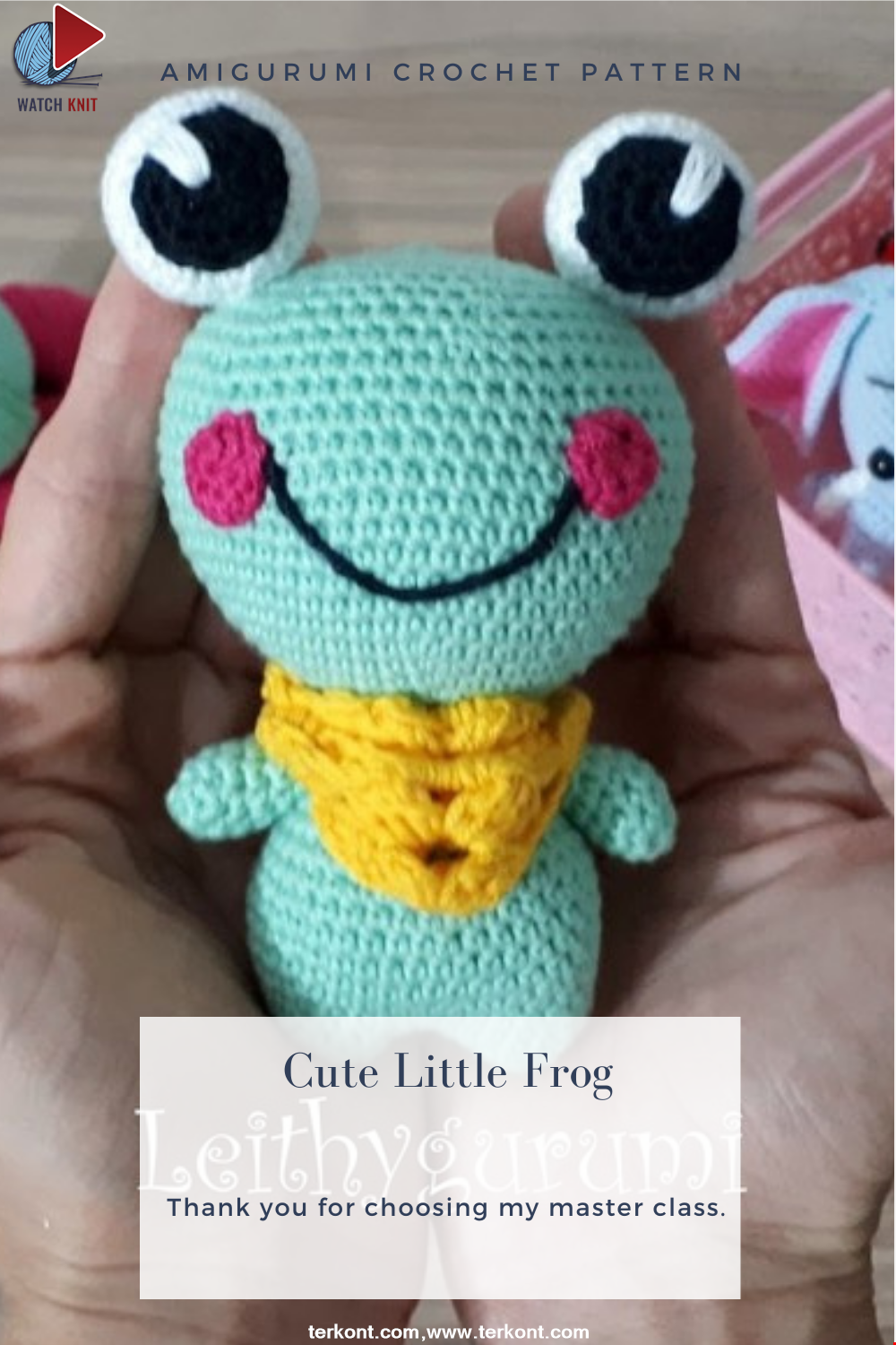 Amigurumi Cute Little Frog Crochet Pattern